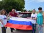 В Раздольненском районе состоялся автопробег, посвященный Дню России