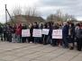 В Раздольном прошла общественная акция «Вместе мы против террора»